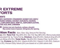 Spring Energy SPEEDNUT WITH HEMP OIL (Vegan) - Extreme Efforts - 250 Kcal