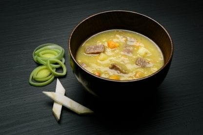 REAL Meat Soup with Beef