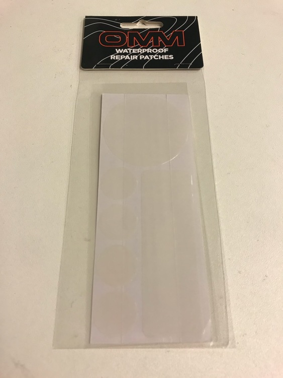 the OMM Waterproof Repair Patches (Laglappar)