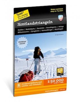 Calazo Jämtlandstriangeln 1:50.000