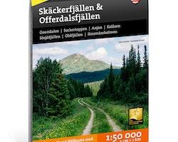 Calazo Skäckerfjällen & Offerdalsfjällen 1:50.000