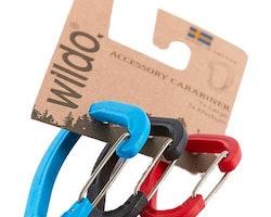 Wildo Carabiner Set, 2M+1L