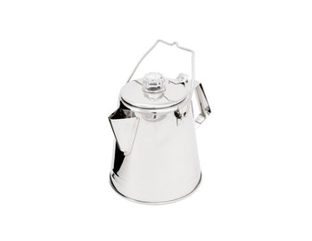 GSI Outdoors Glacier Stainless 8 Cup Percolator
