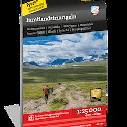 Calazo Jämtlandstriangeln 1:25 000