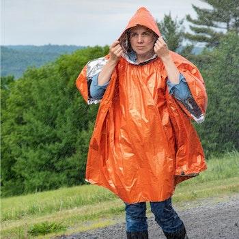 Survive Outdoors Longer Heat Reflective Poncho