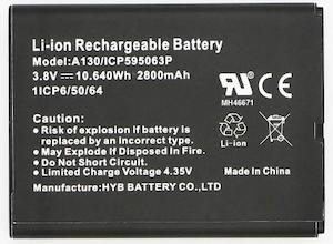Batteri till WAH7706/LTE3302/LT3312
