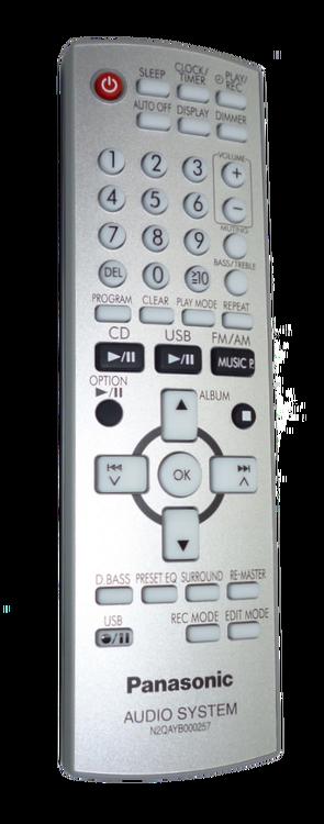 Fjärrkontroll - N2QAYB000257