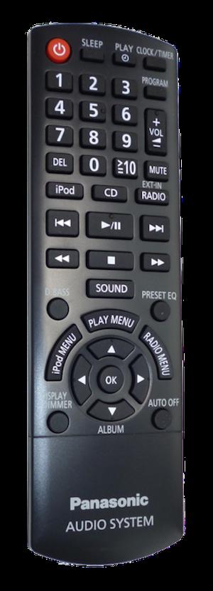 Fjärrkontroll - N2QAYB000640