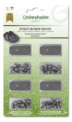Knivar till Automower, Gardena m.fl, 36-pack