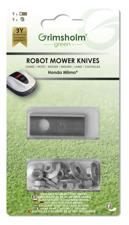 Knivar till Honda Miimo, 9-pack