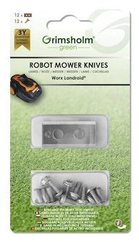 Knivar till Worx, 12-pack
