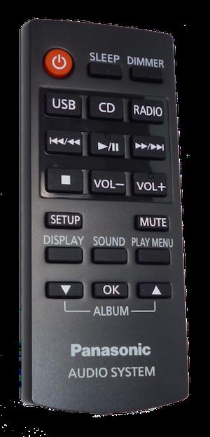 Fjärrkontroll - N2QAYC000080