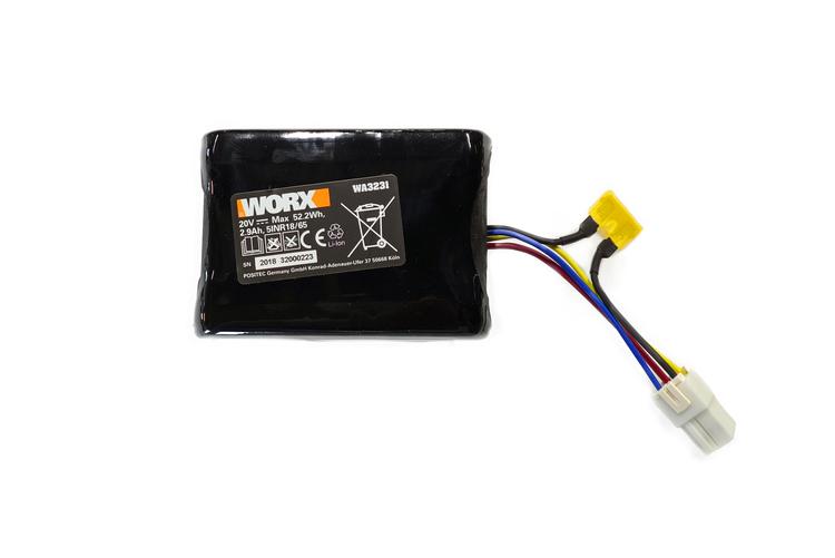 Battery Pack(Li-ion,2.9Ah,20V)WA3231 - 50032774