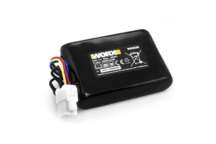 Battery Pack WA3230 (Li-ion,2.0Ah,20V) - 50032492