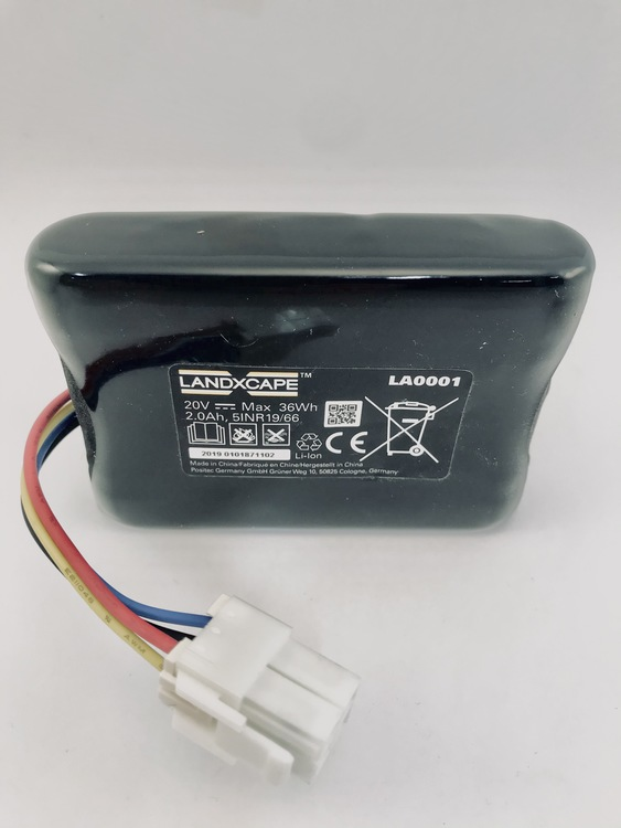 Battery pack(Li-ion,2.0Ah,20V) LA0001 - 50037124