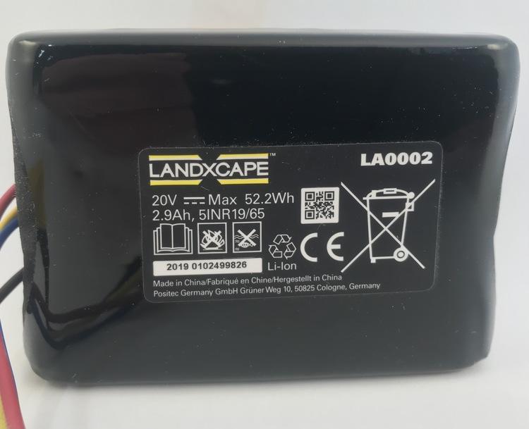 Battery pack(Li-ion,2.9Ah,20V) LA0002 - 50037194