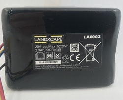Battery pack(Li-ion,2.9Ah,20V) LA0002 - 50037194
