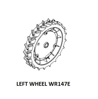 Left rear wheel - 50041373