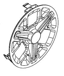 50041366 - Wheel cover (1 stk)