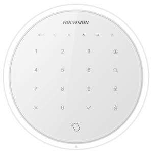 HikVision Manöverpanel DS-PKA trådlös vit