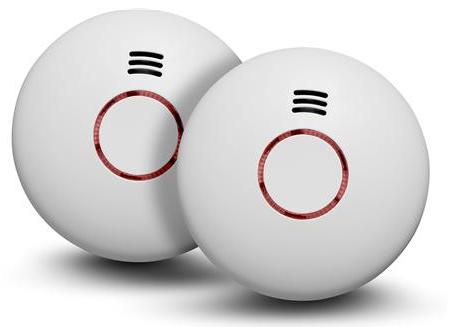 Brandvarnare trådlös Origo 2 st/fp
