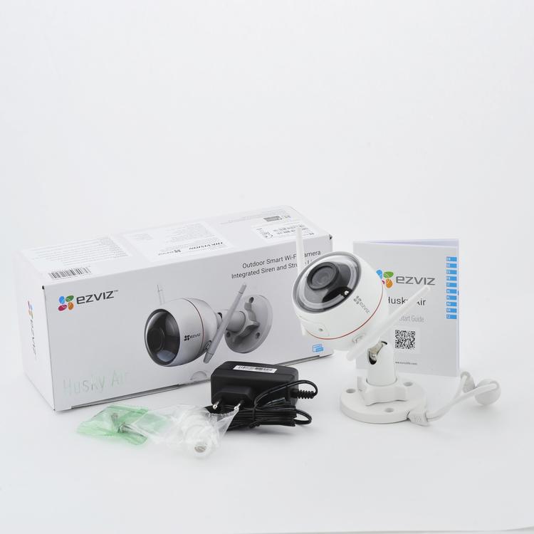 EZVIZ trådlös utomhus/inomhus kamera med inbyggd Strobe