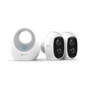 EZVIZ 2st-trådlösa kameror med Basstation