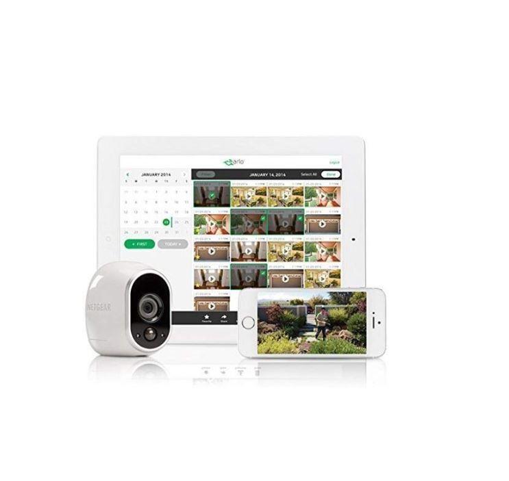 Arlo HD Smart Home Security - Tillägsskamera (Add On Camera)