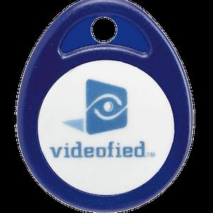 Videofied Tagg för av/pålarmning