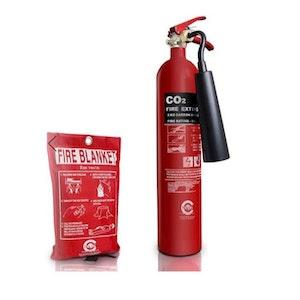 Koldioxidsläckare & Brandfilt CO2 2Kg