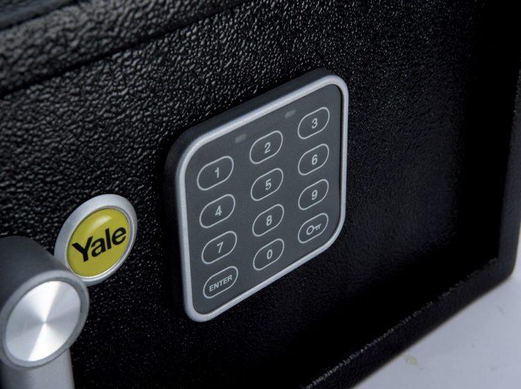 Yale LapTop-skåp med Kodlås