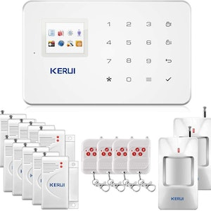KERUI Wireless Home Security APP Automatic Dial Sensor Burglar Alarm Kit1
