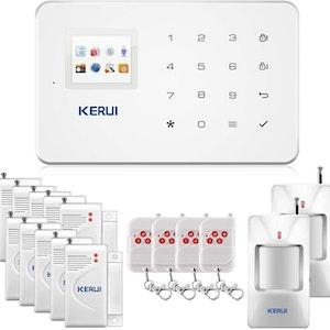 KERUI Wireless Home Security APP Automatic Dial Sensor Burglar Alarm Kit1