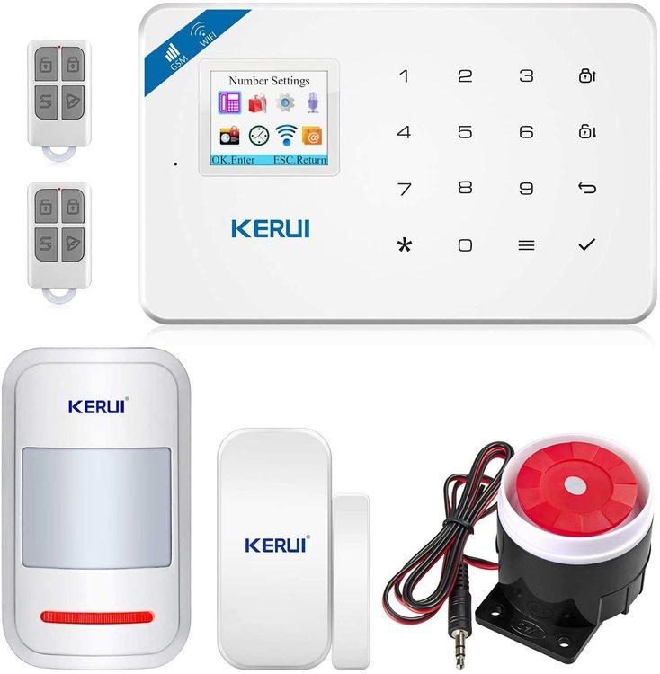 KERUI Wireless Home Security APP Automatic Dial Sensor Burglar Alarm Kit2