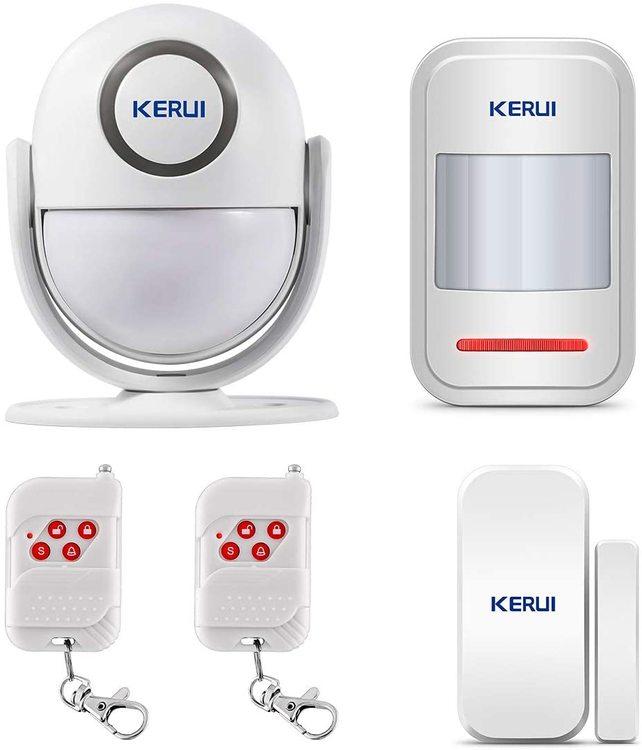 KERUI Wireless Home Security APP Automatic Dial Sensor Burglar Alarm Kit4