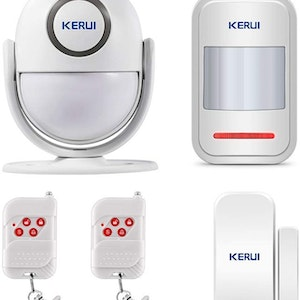KERUI Wireless Home Security APP Automatic Dial Sensor Burglar Alarm Kit4