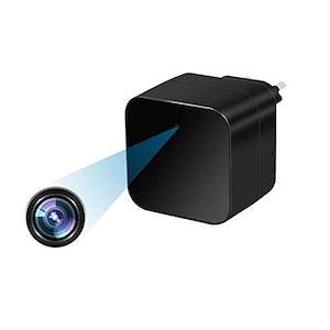 Dold wifi Kamera i laddaren (Väggadapter) 1080P