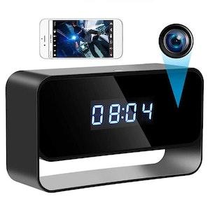 WIFI IP Dold Kamera i klockkamera 1080P Säkerhetsövervakning