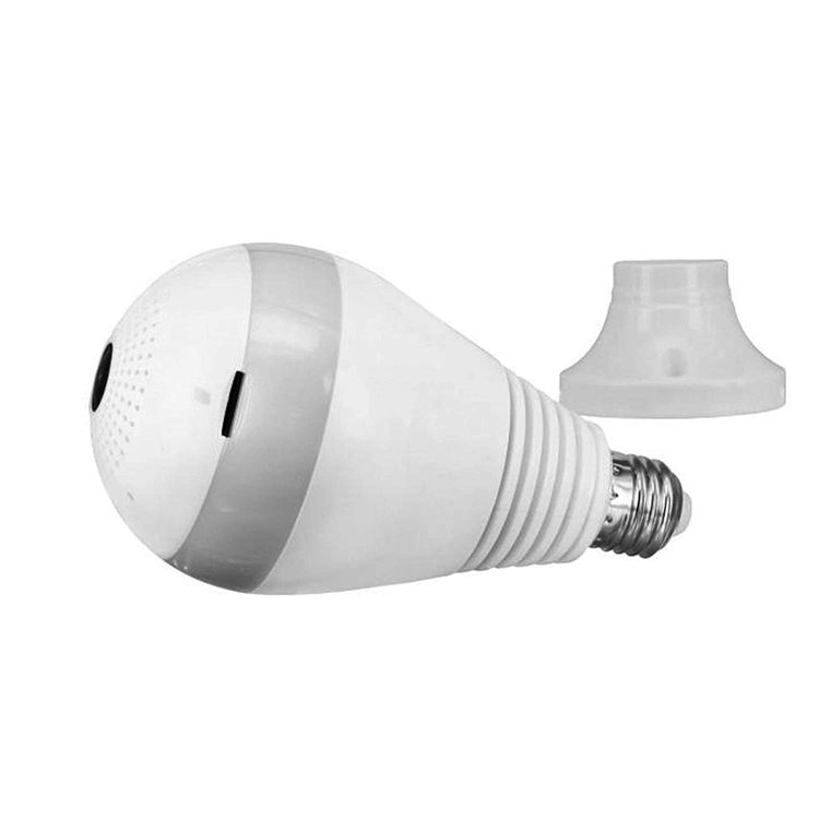 WIFI IP Kamera i i LED-lampa 360-graders FullHD 1080P