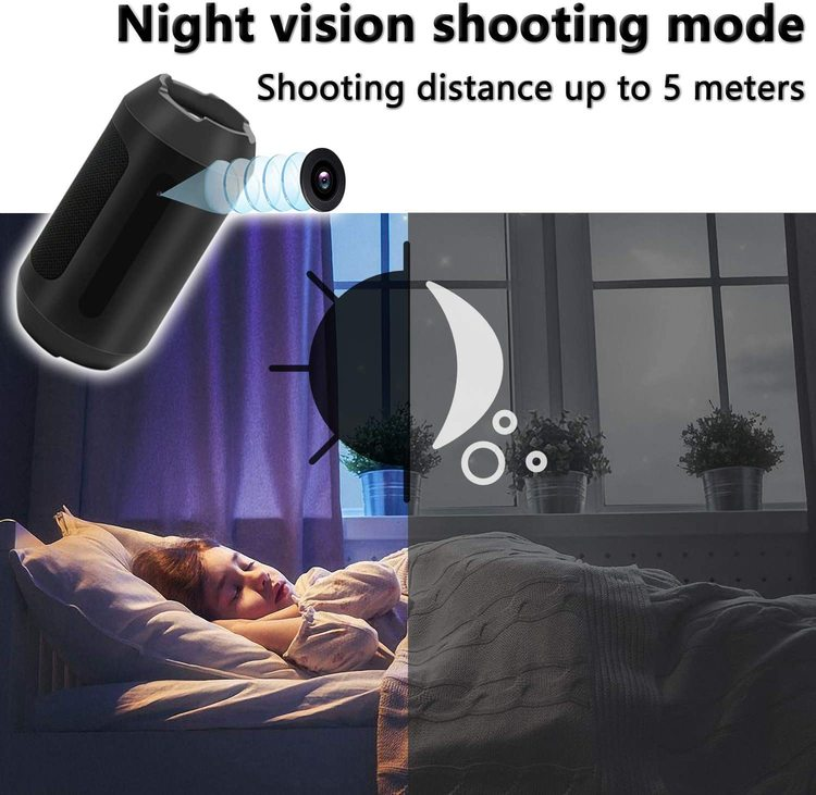 Dold Kamera i Bluetooth-Högtalare