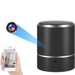 WIFI IP Dold Kamera i Bärbar Bluetooth-Högtalare