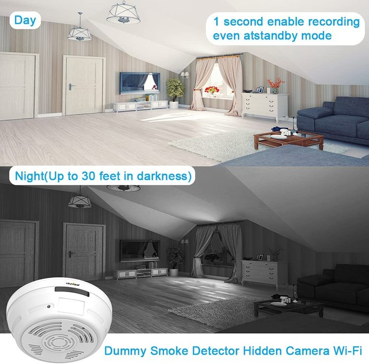 WIFI IP Dold Kamera i form av brandvarnare