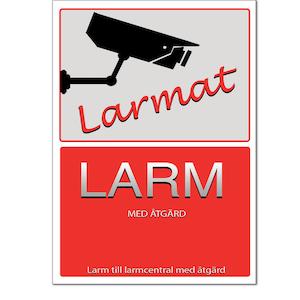 Larmdekal (Sticker intruder Alarm)