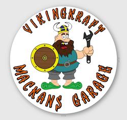 V04 runt samlarmärke vikingkraft