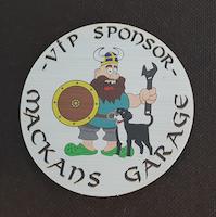 VIP RUND Sponsordekal 400kr Fraktfritt!