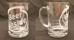 "Ölsejdel "" Beer inside """