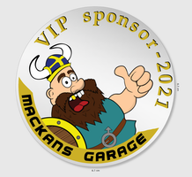 VIP Sponsordekal 2021 -450kr