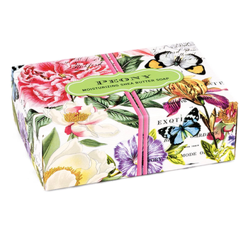 Peony Boxed Single Soap