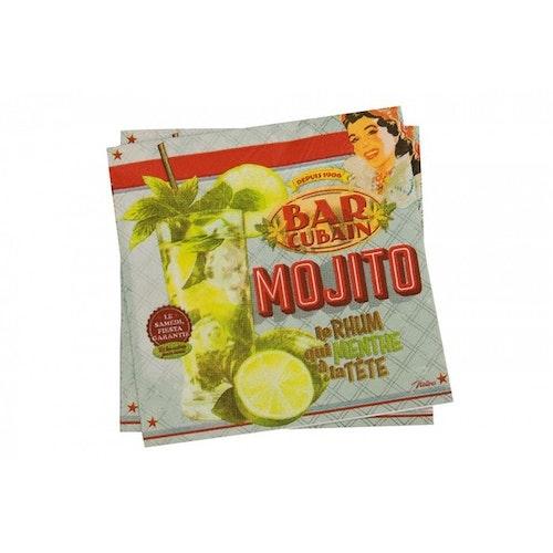 "Servetter ""Mojito"""