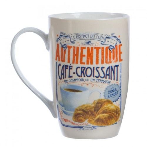 "Kaffemugg Stor ""Croissant"""